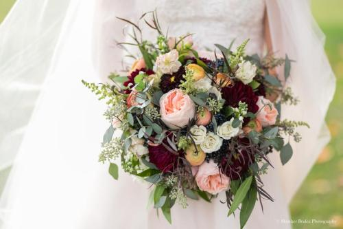 KC Fall Bridal Bouquet