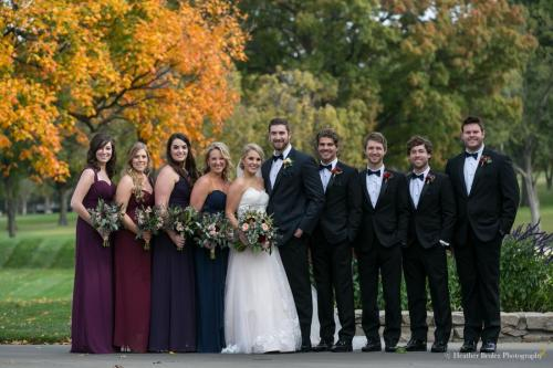 KC Fall Wedding Party