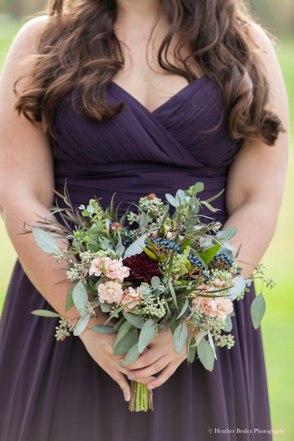 Fall Wedding Bridesmaid Bouquet