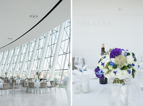 Kauffman Center for the Performing Arts Wedding Floral